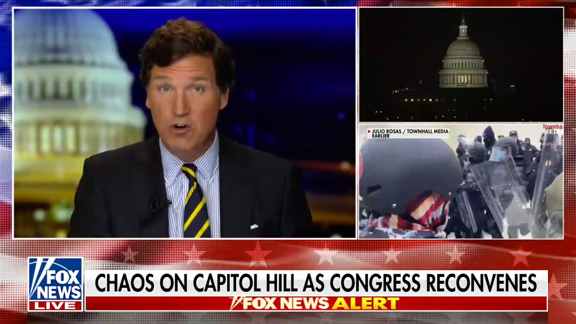 Rep. Matt Gaetz and other GOP politicians baselessly suggest antifa is to blame for pro-Trump mob rioting into Capitol