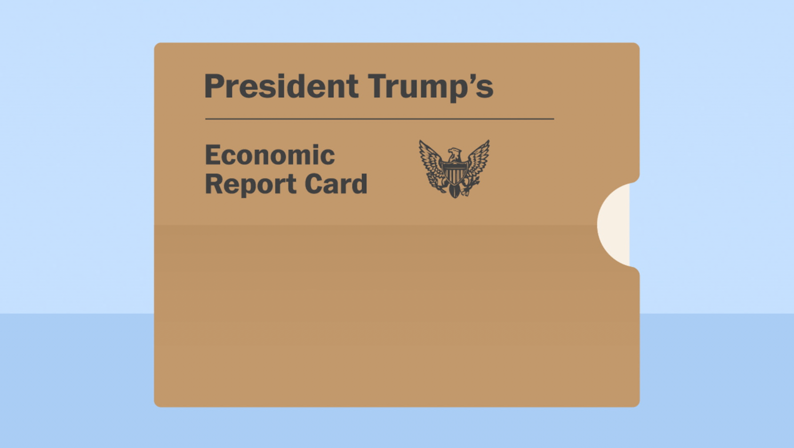 trump s economic report card the washington post