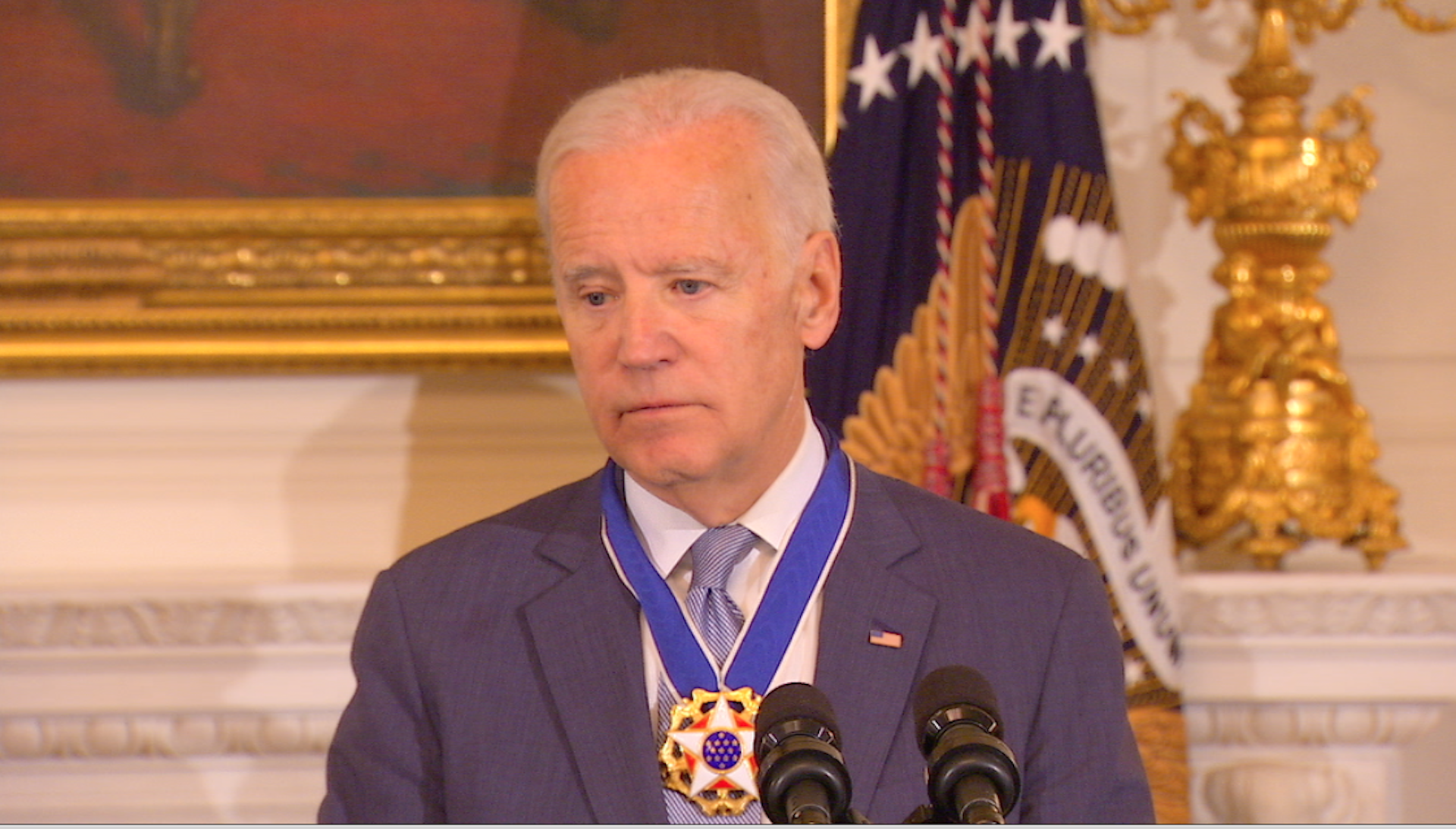 Obama surprises Joe Biden with the Presidential Medal of Freedom
