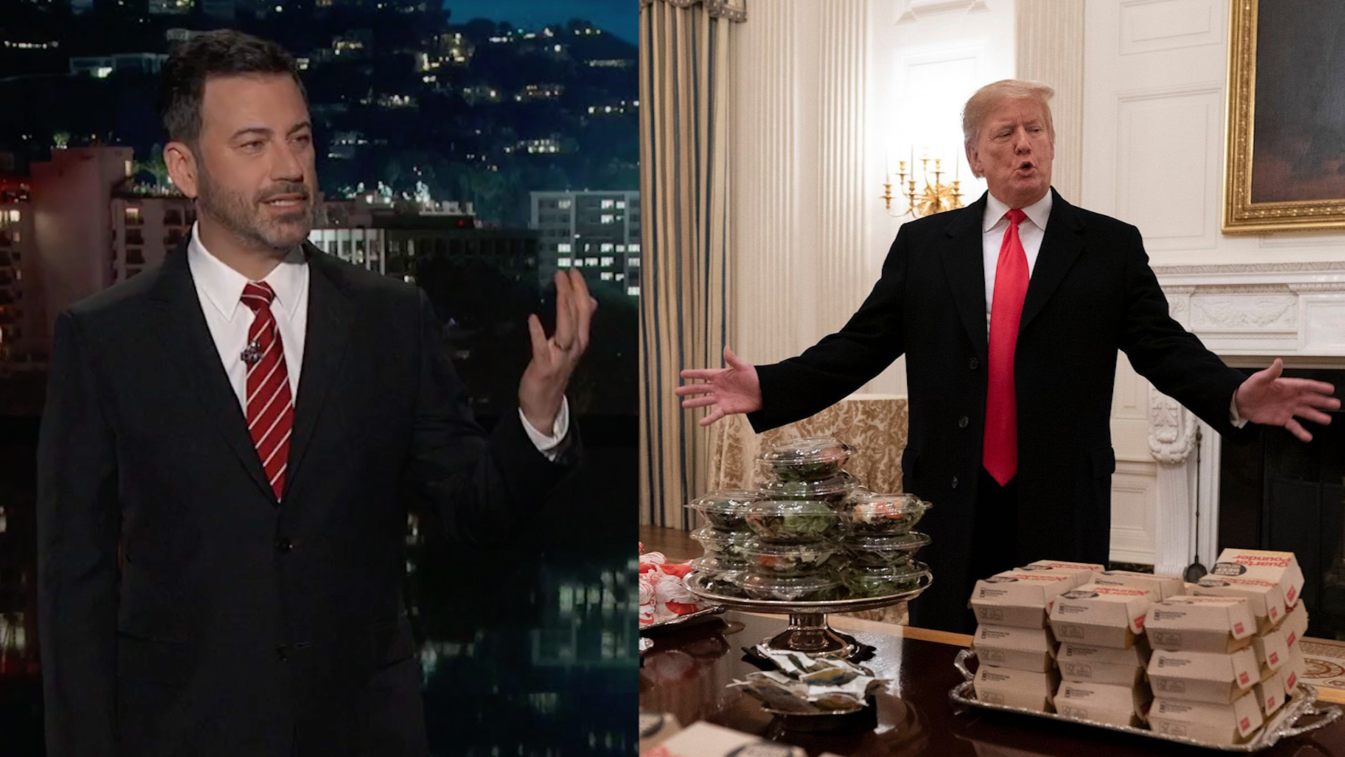 What it means that Trump served Big Macs in the State Dining Room