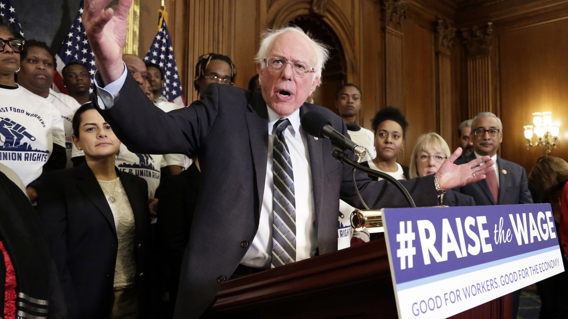Bernie Sanders defends campaign salaries after Post report of labor dispute with unionized organizers