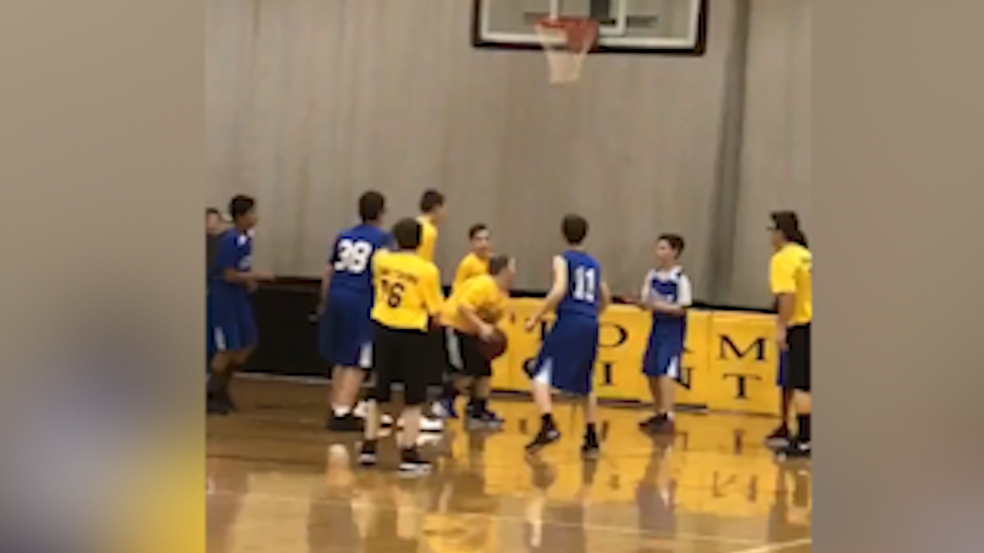 Team Cheers As Boy With Down Syndrome Scores In Basketball Game