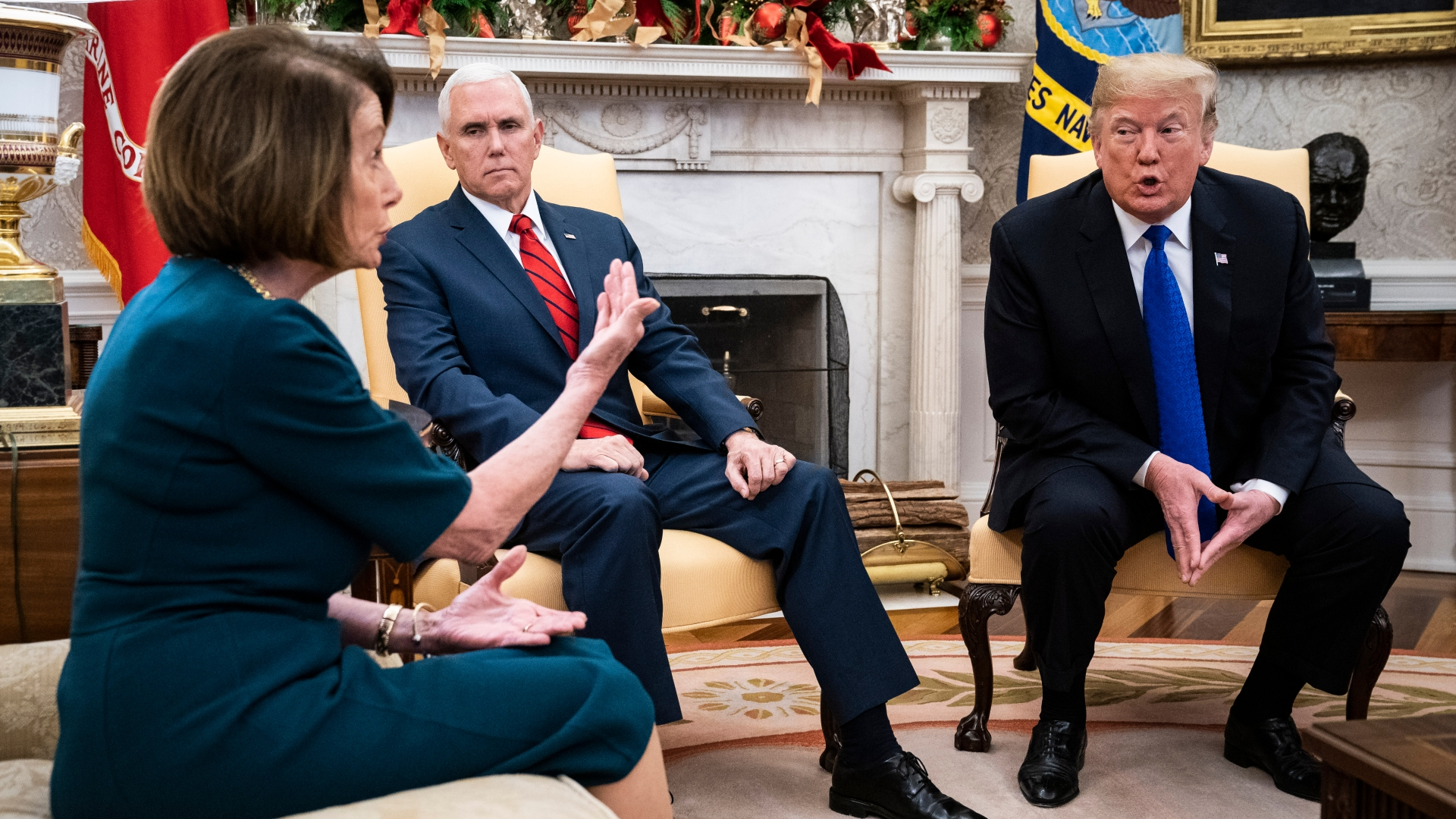There is only one way to break Trump's pathology. Pelosi has found it.