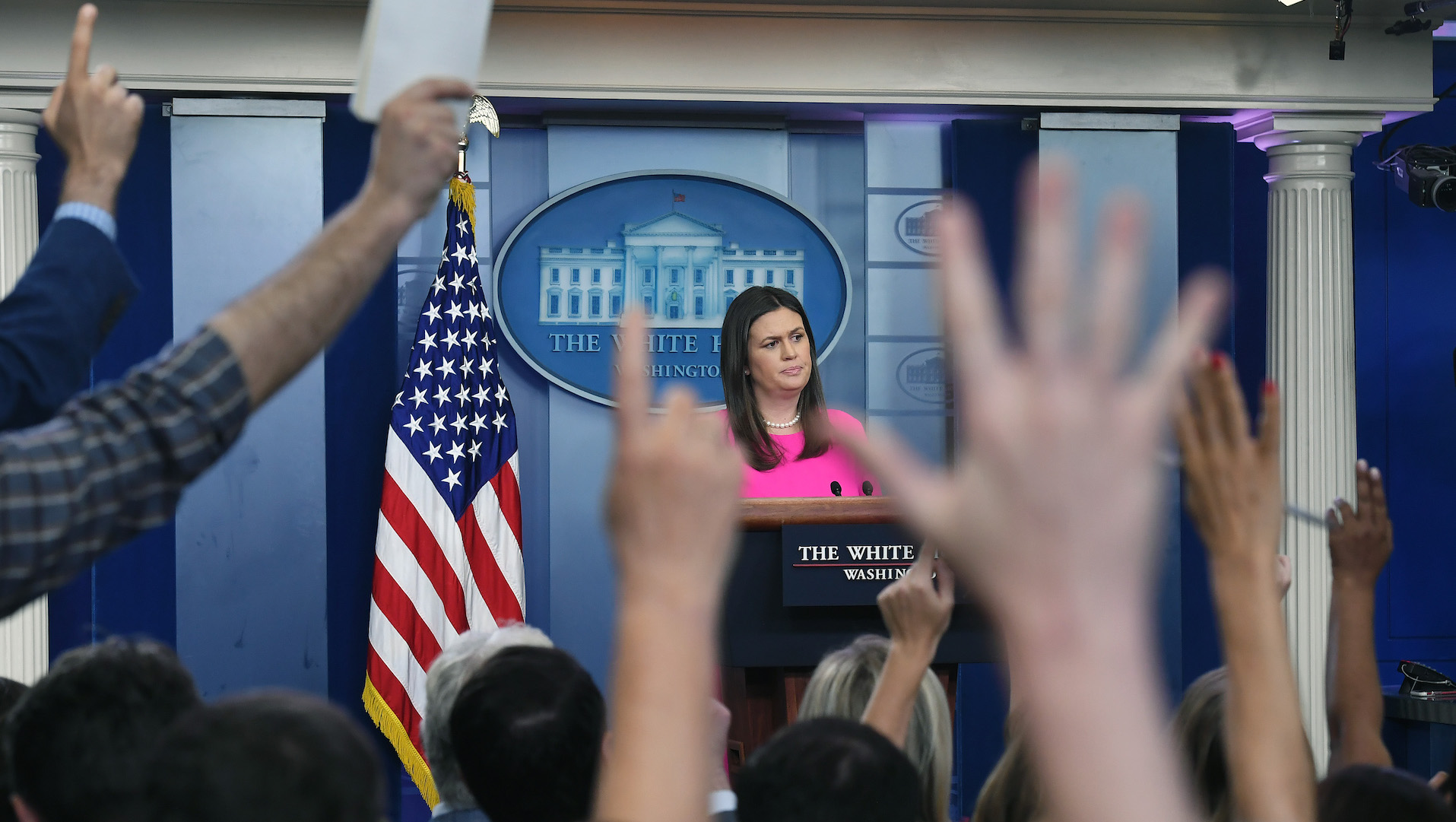 I asked Democratic candidates if they'd restore press briefings. Here's what they said.