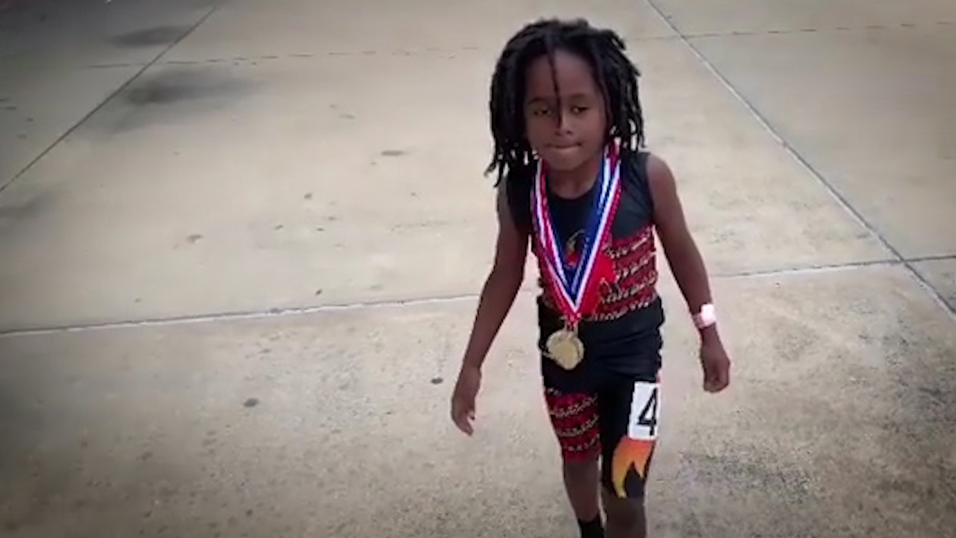Meet the 7-year-old who's way faster than you