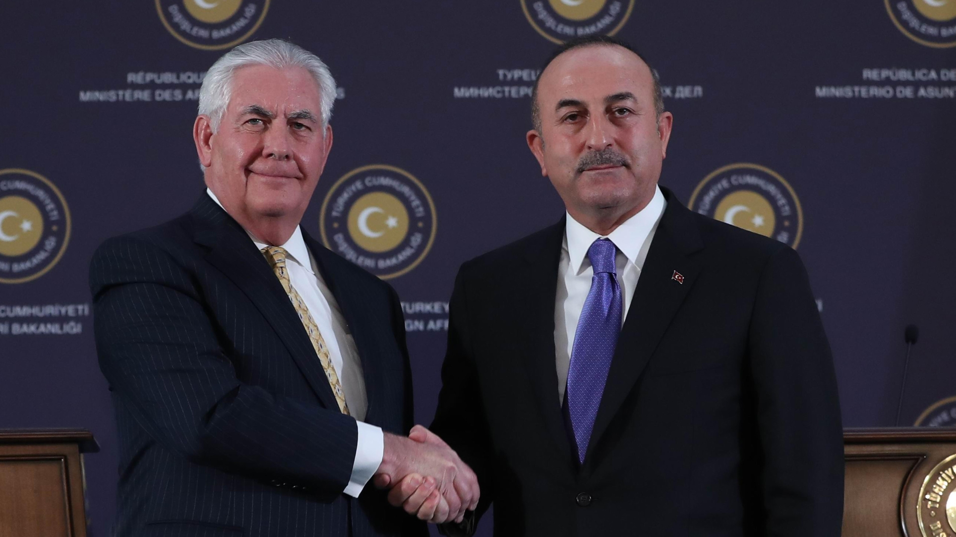 Turkey and the U.S. agree to move forward, not dwell on past differences