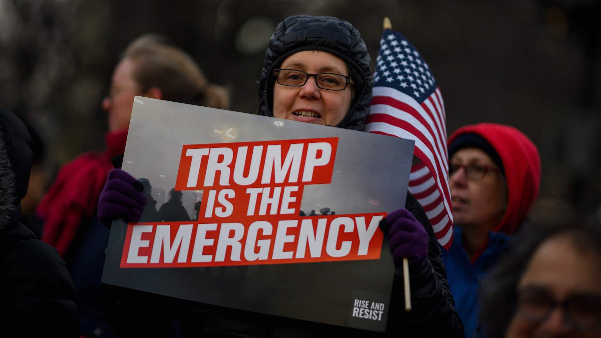 Coalition of states sues Trump over national emergency to build border wall