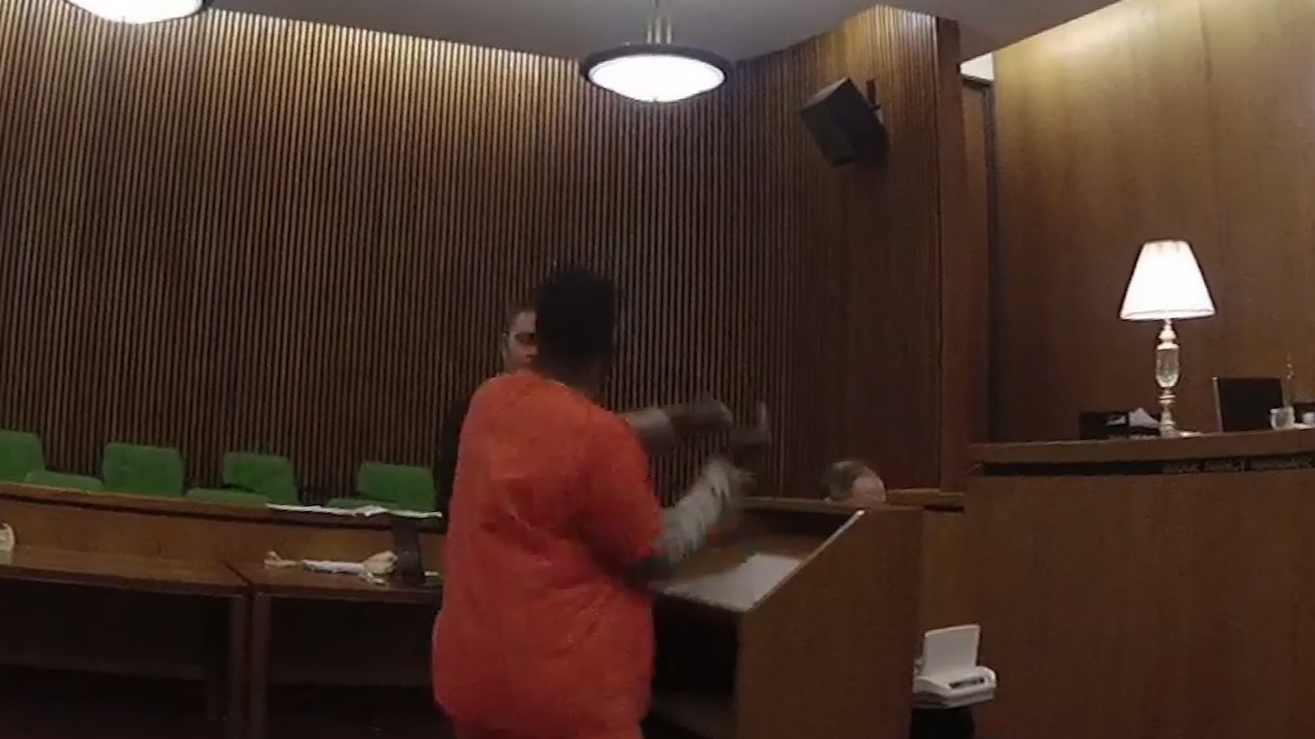 'He let it out on me': Man punches attorney after getting 47 years in prison