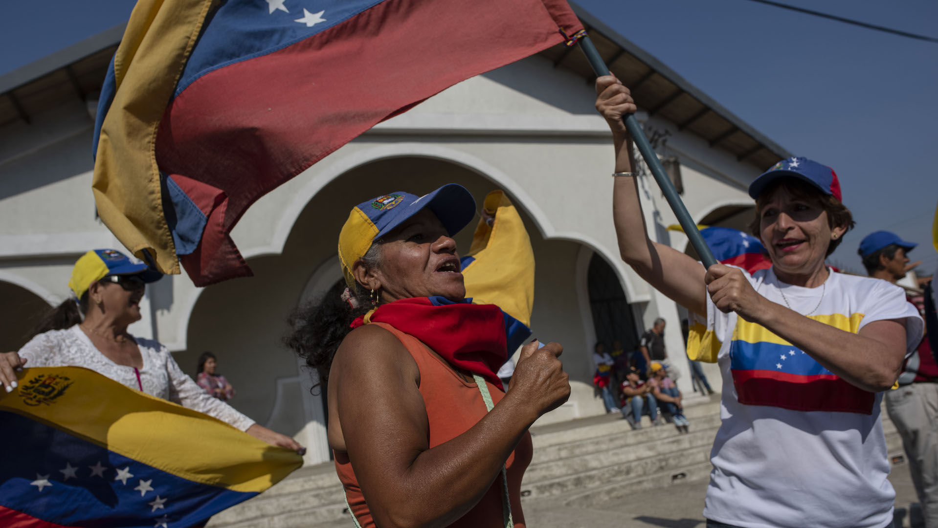 How the crisis in Venezuela is unfolding, in images