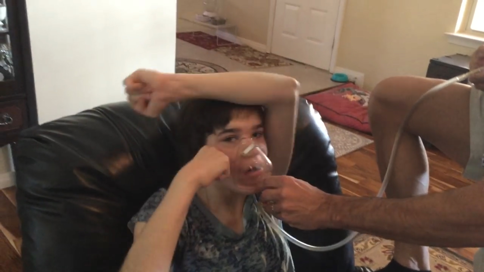 'There is no other medicine': Texas father breaks law to treat self-harming autistic daughter with marijuana