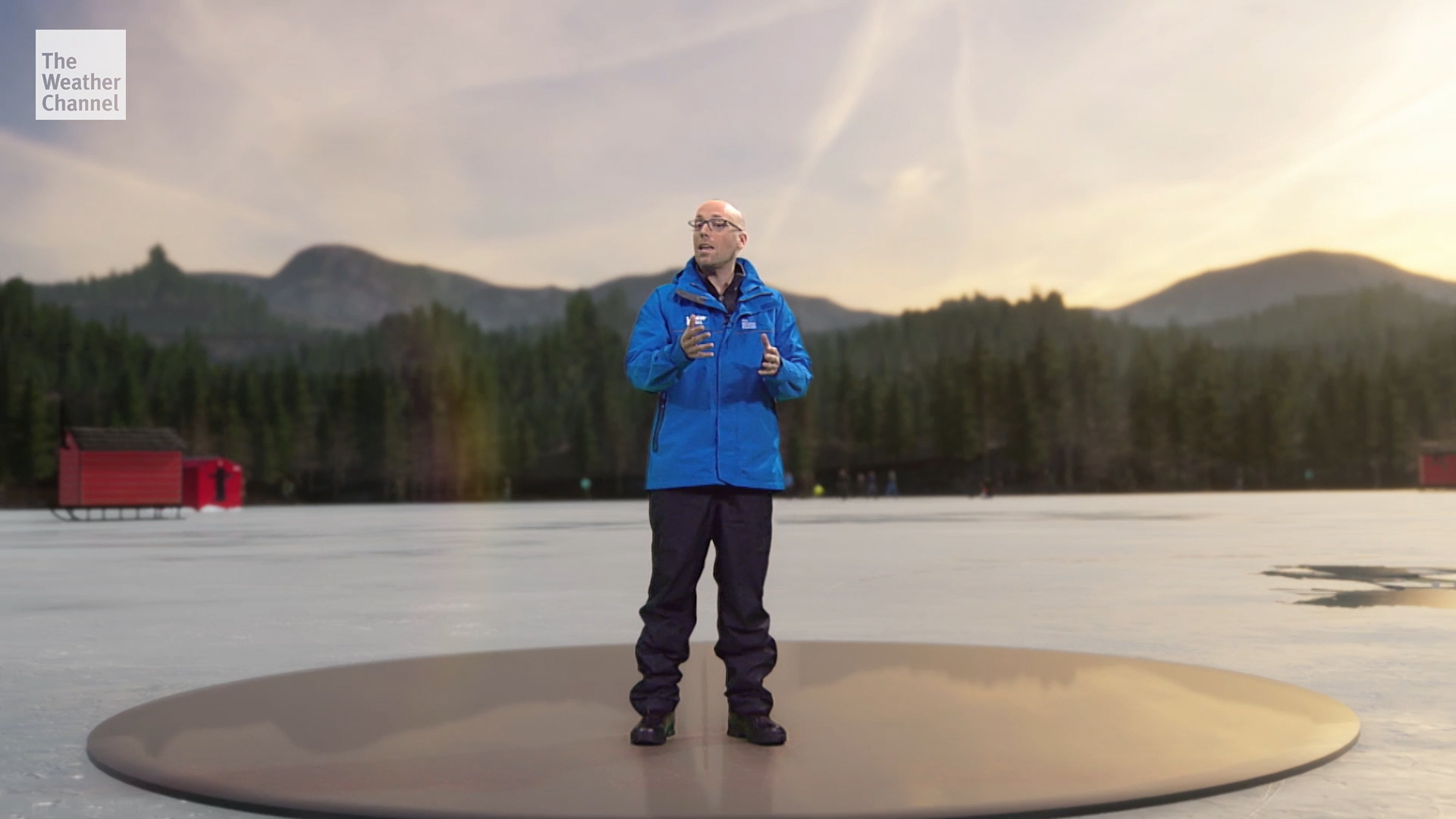 See The Weather Channel's immersive mixed reality segment in action - The Washington Post