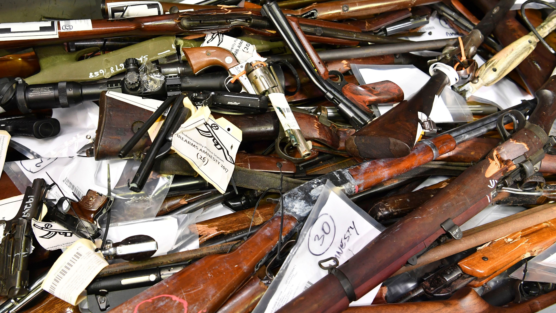 As U.S. gun debate rages on, Australians hand in 57,000 firearms, and Norway is set for a broad ban