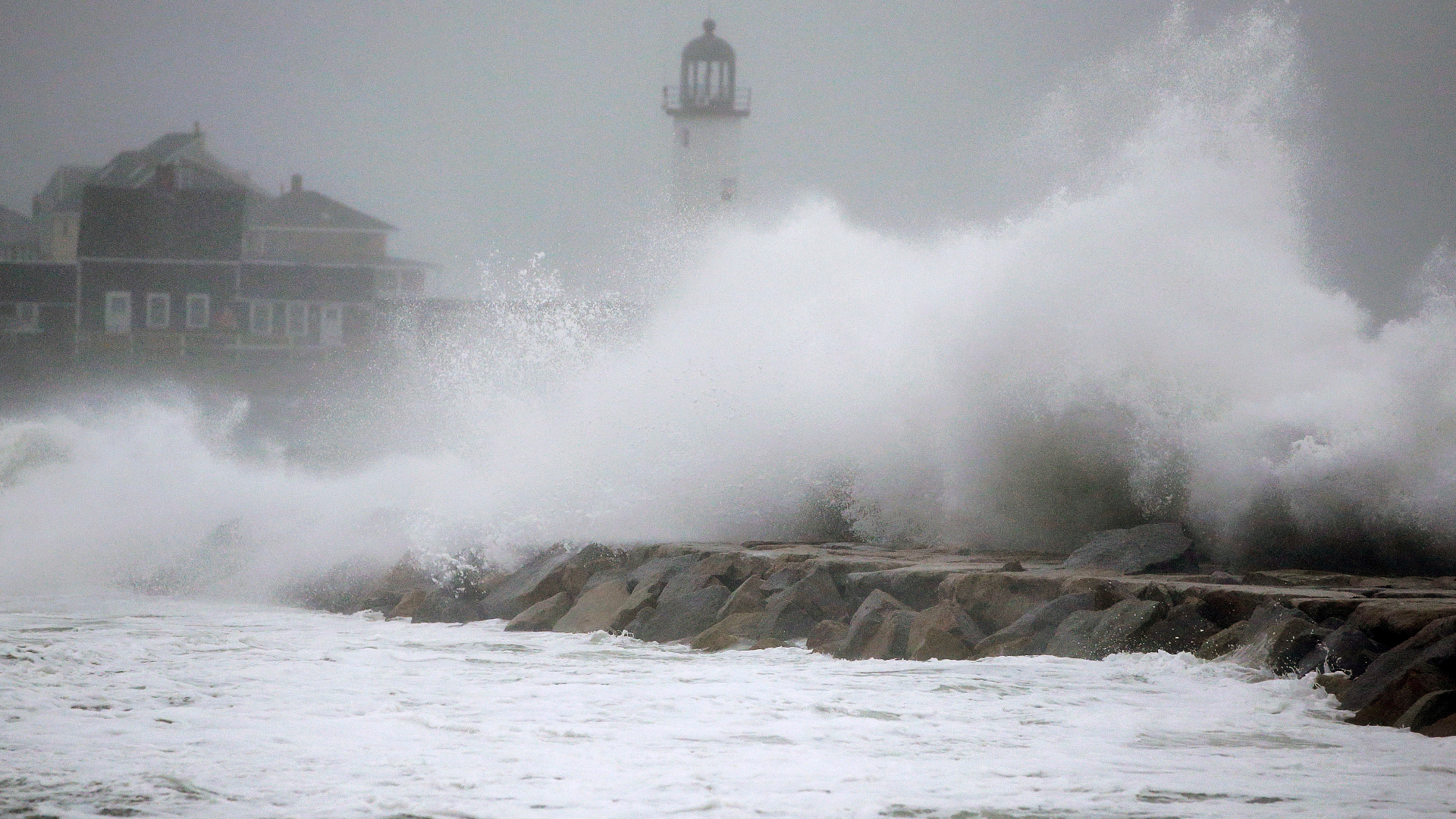 Wind Gusts Topped 93 Mph In Nor Easter Boston Storm Surge Falls Short Of Record The Washington Post