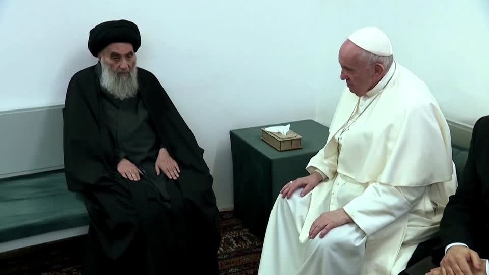 Pope Francis in Iraq: Meeting with Sistani and calls for peace in biblical  Ur - The Washington Post