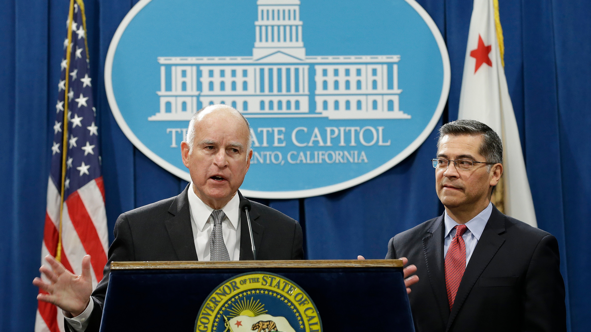 california governor accuses sessions - HD1920×1080