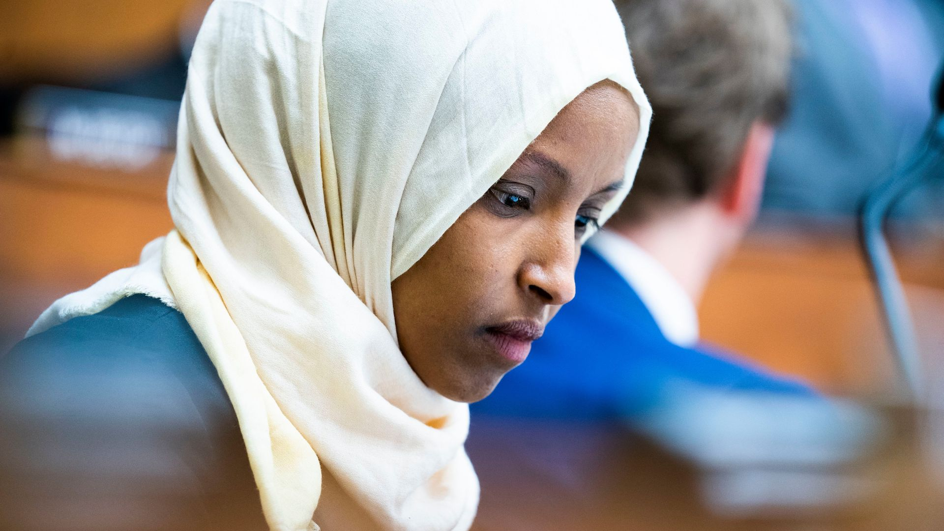 Ilhan Omar: We must apply our universal values to all nations. Only then will we achieve peace.