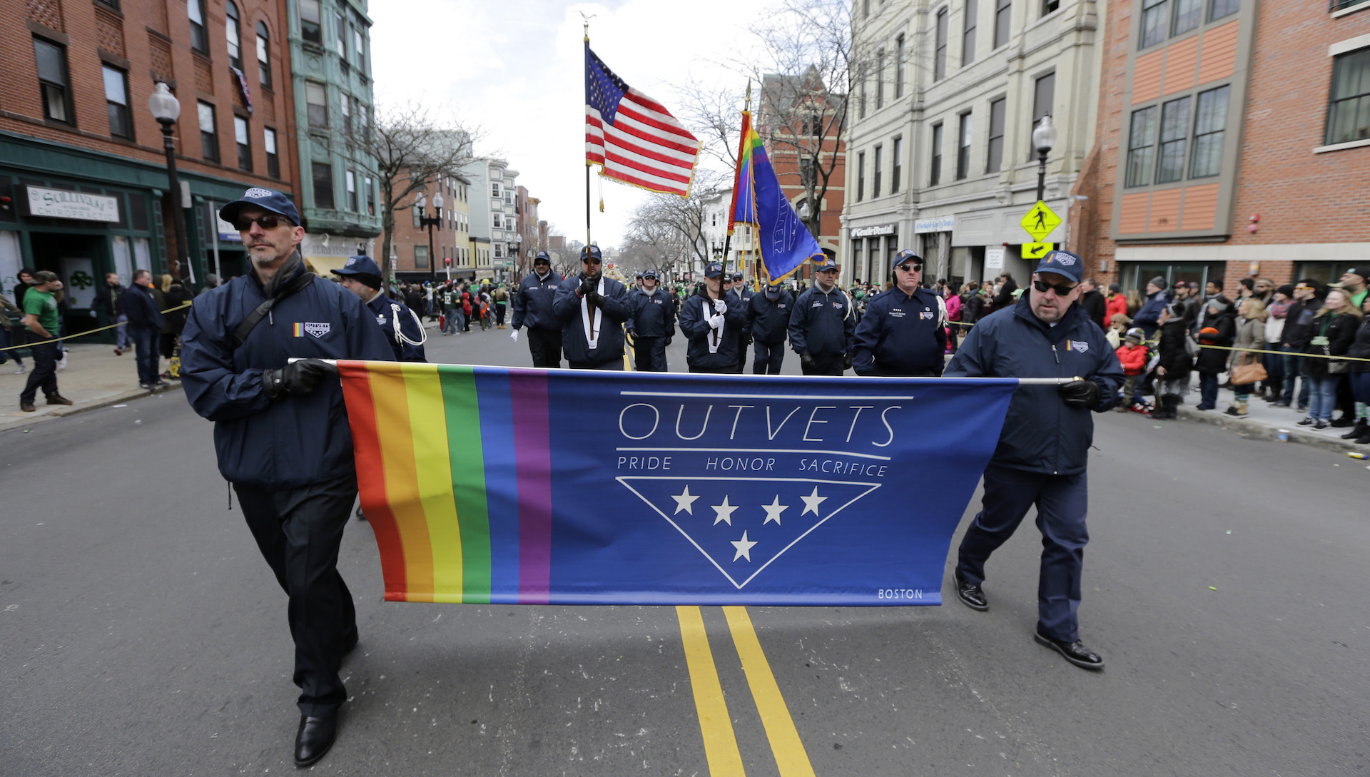 Backlash, boycott threats in Boston after gay vets banned from St. Patrick's Day parade
