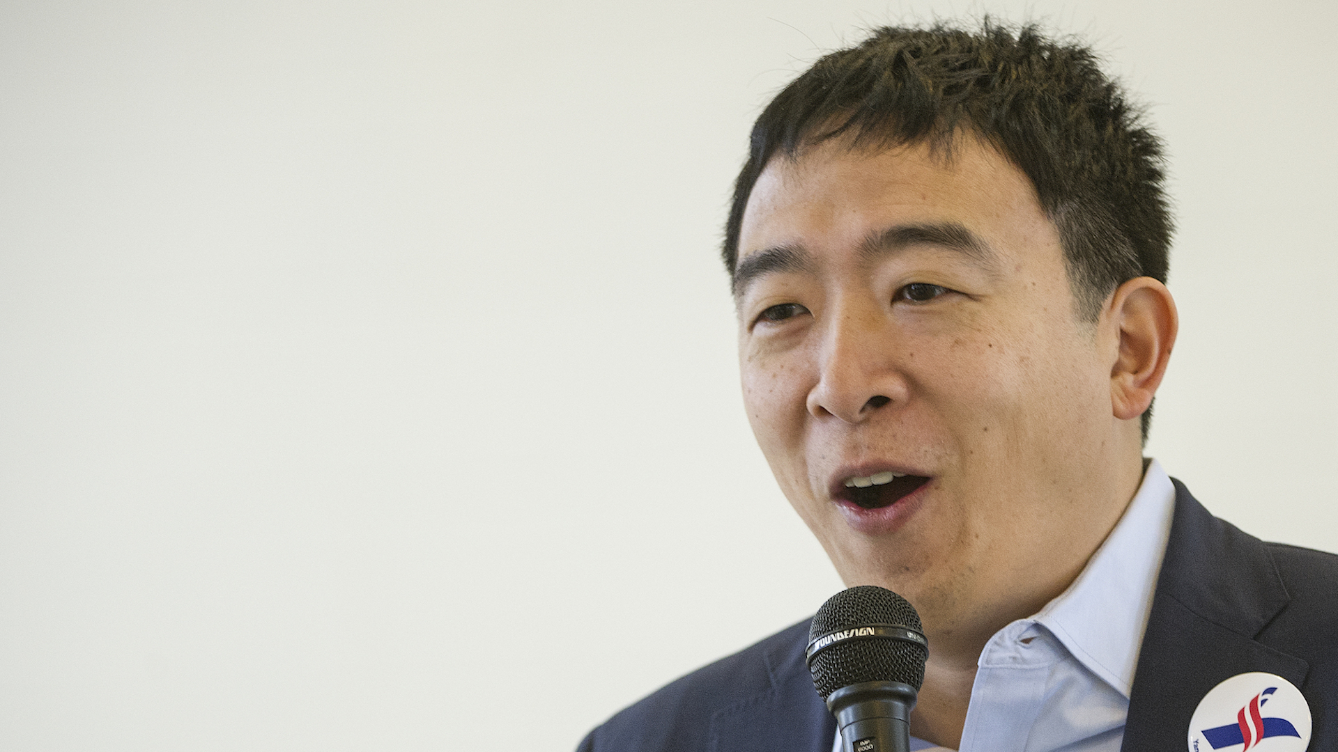 Andrew yang is running for president havent heard of him you will soon
