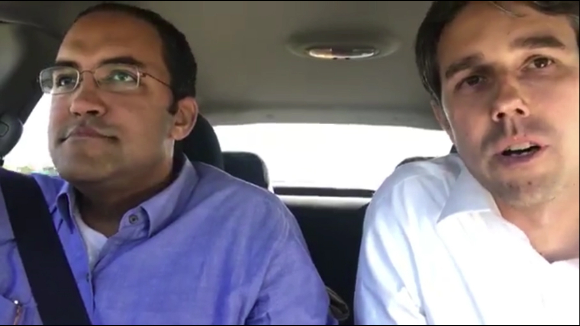 Snow forces two congressmen on a bipartisan road trip from Texas to D.C. — singing along the way