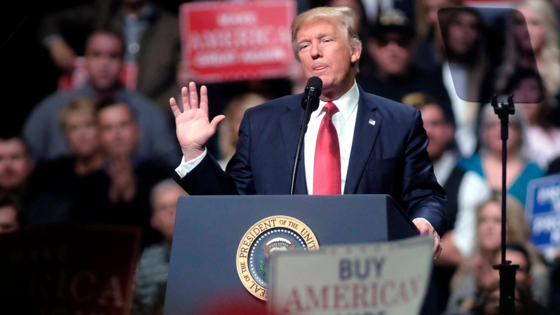President Trump, buck-passer