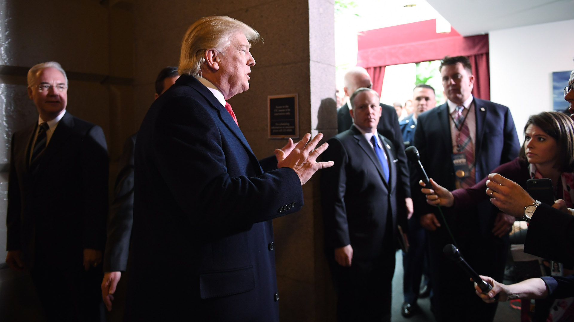 Trump to GOP critics of health-care bill: 'I'm gonna come after you'