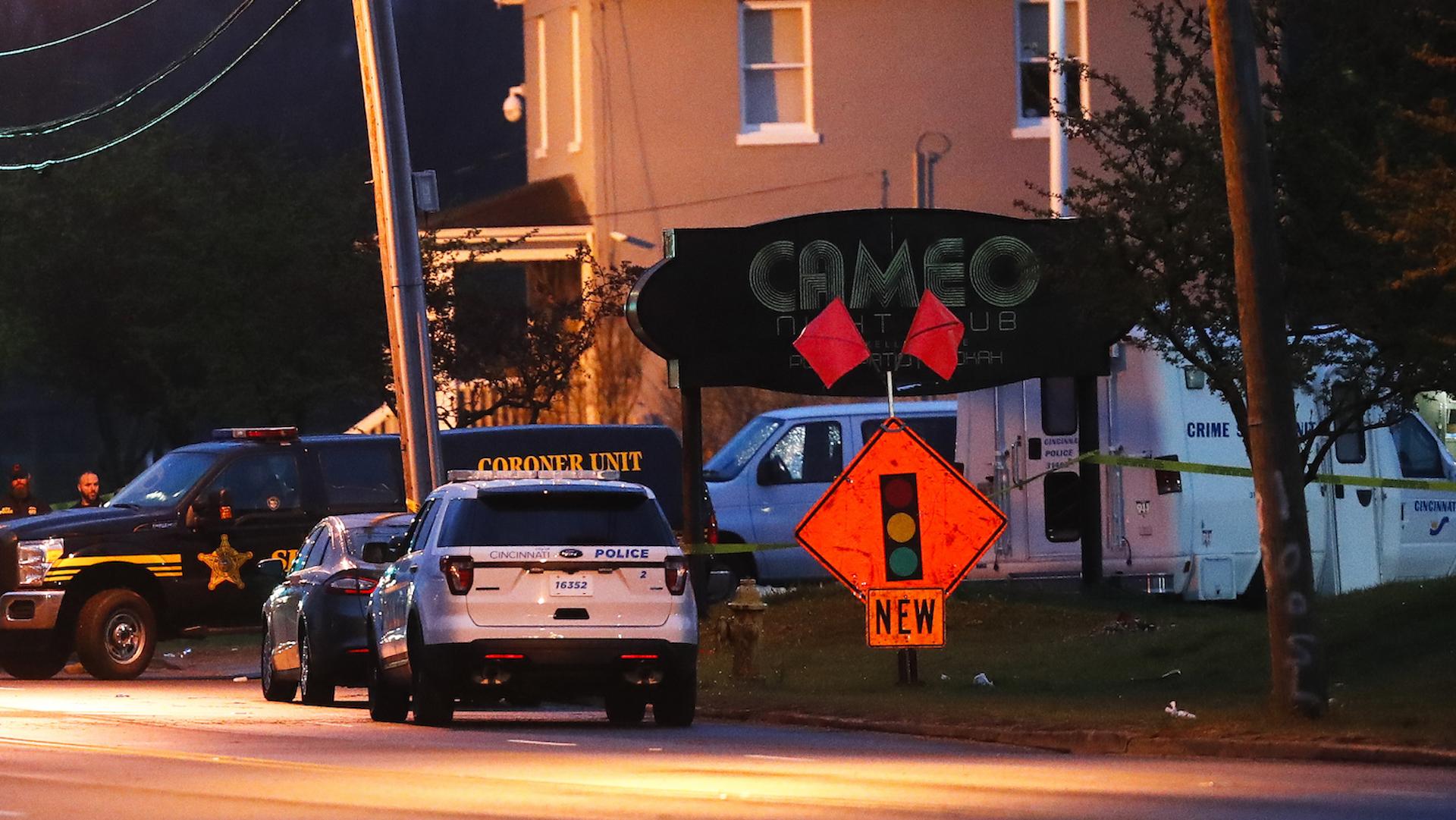 Gunmen fire inside Cincinnati nightclub, killing 1 and injuring 15, police say