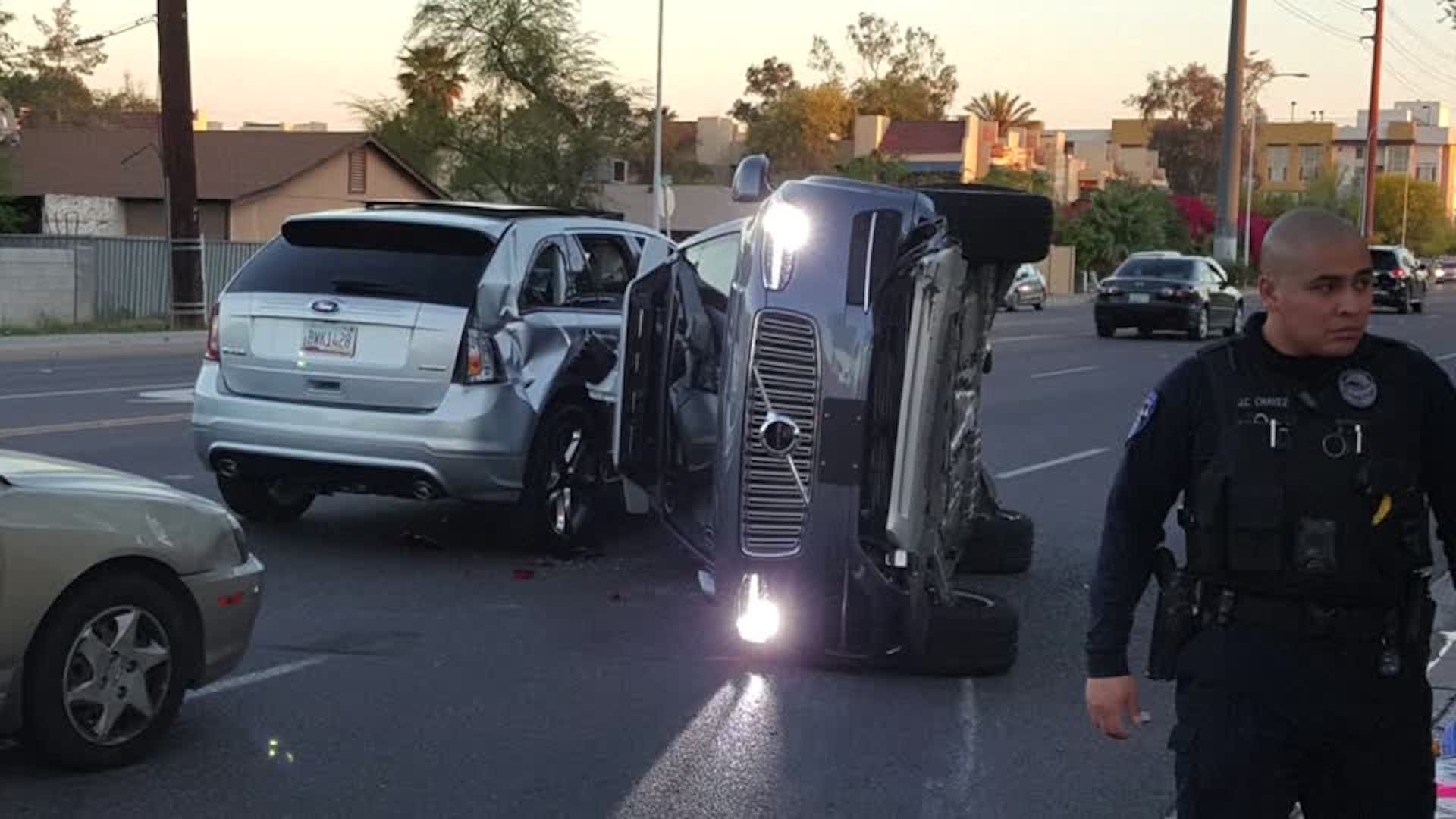 We know more about that crash involving Uber's self-driving car