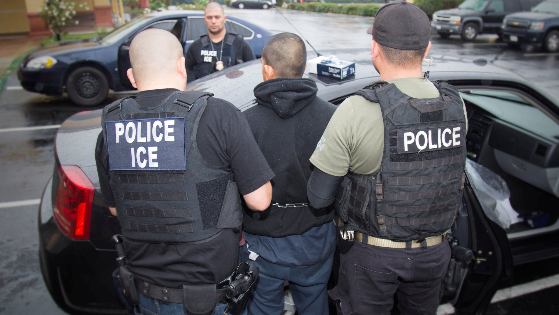 They met with immigration officers to apply for legal residency — only to be arrested by ICE