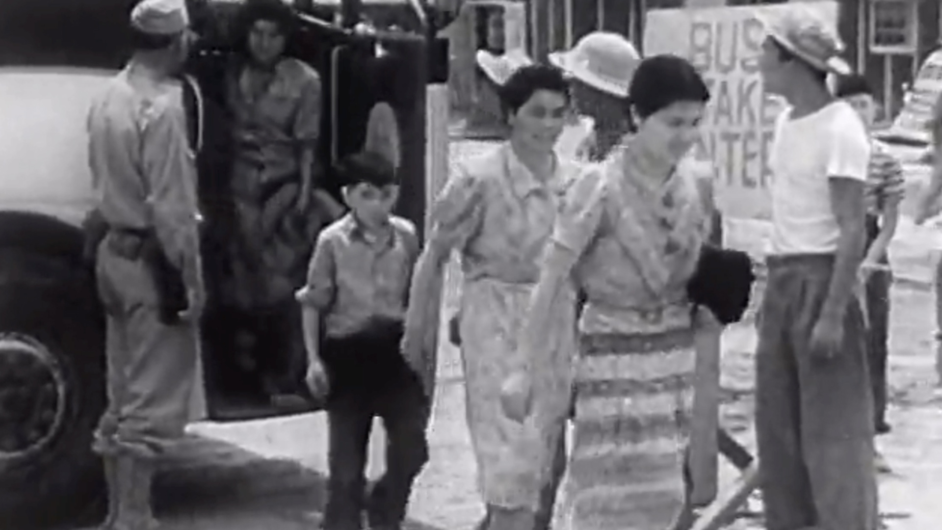 U S  government film sought to justify Japanese internment camps during  World War II