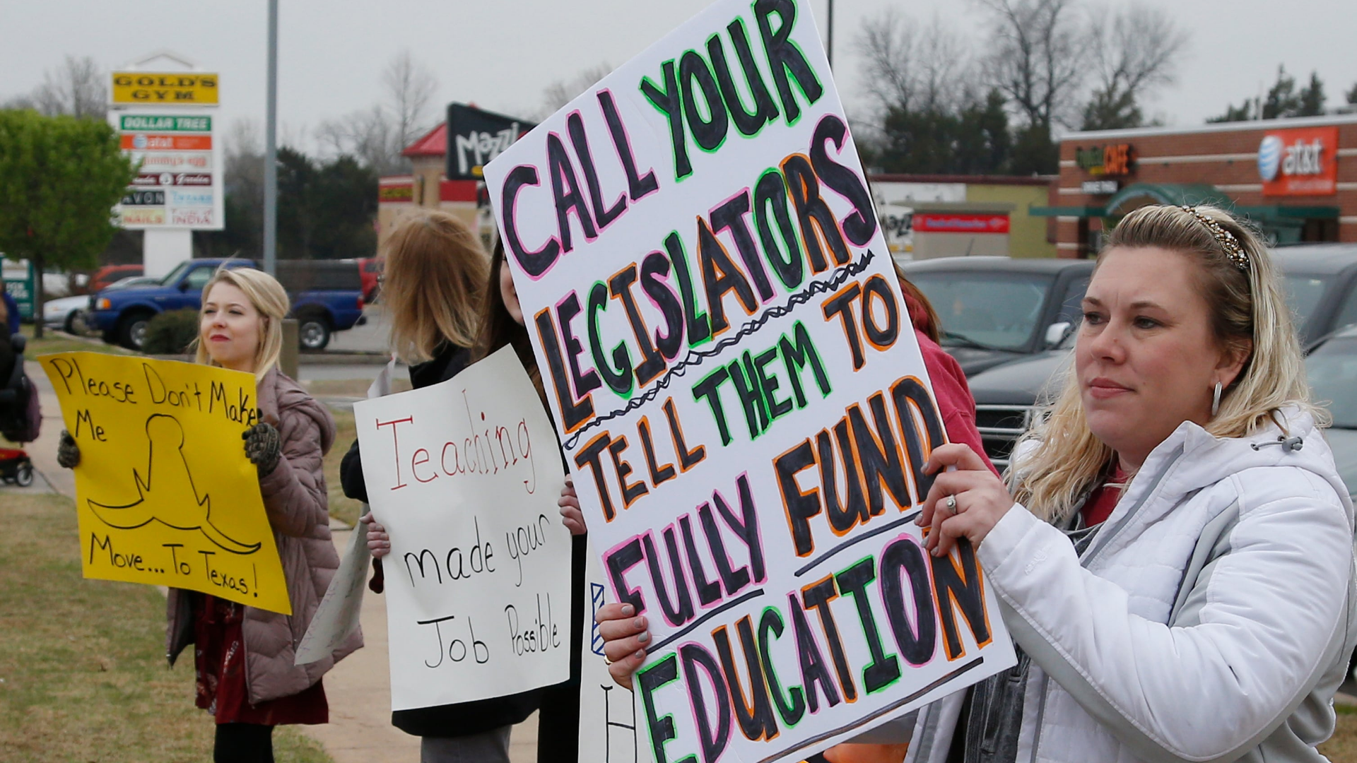 Here's the real reason teachers are revolting in red states