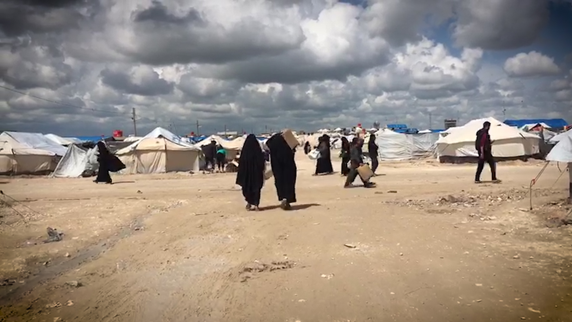 True ISIS believers regroup inside refugee camp, terrorize the 'impious'