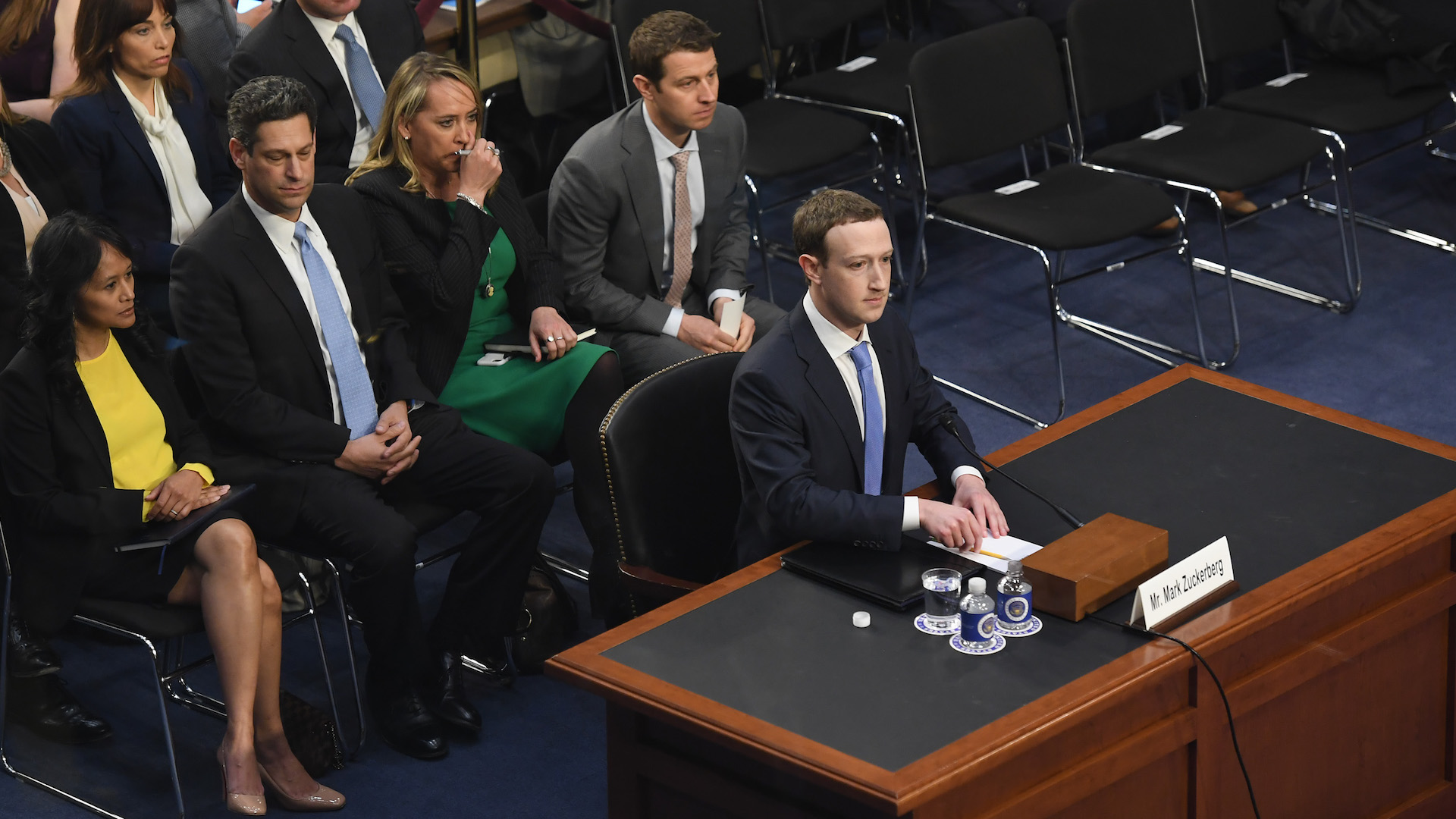 Facebook CEO Mark Zuckerberg to Capitol Hill: 'It was my mistake, and I'm sorry.'