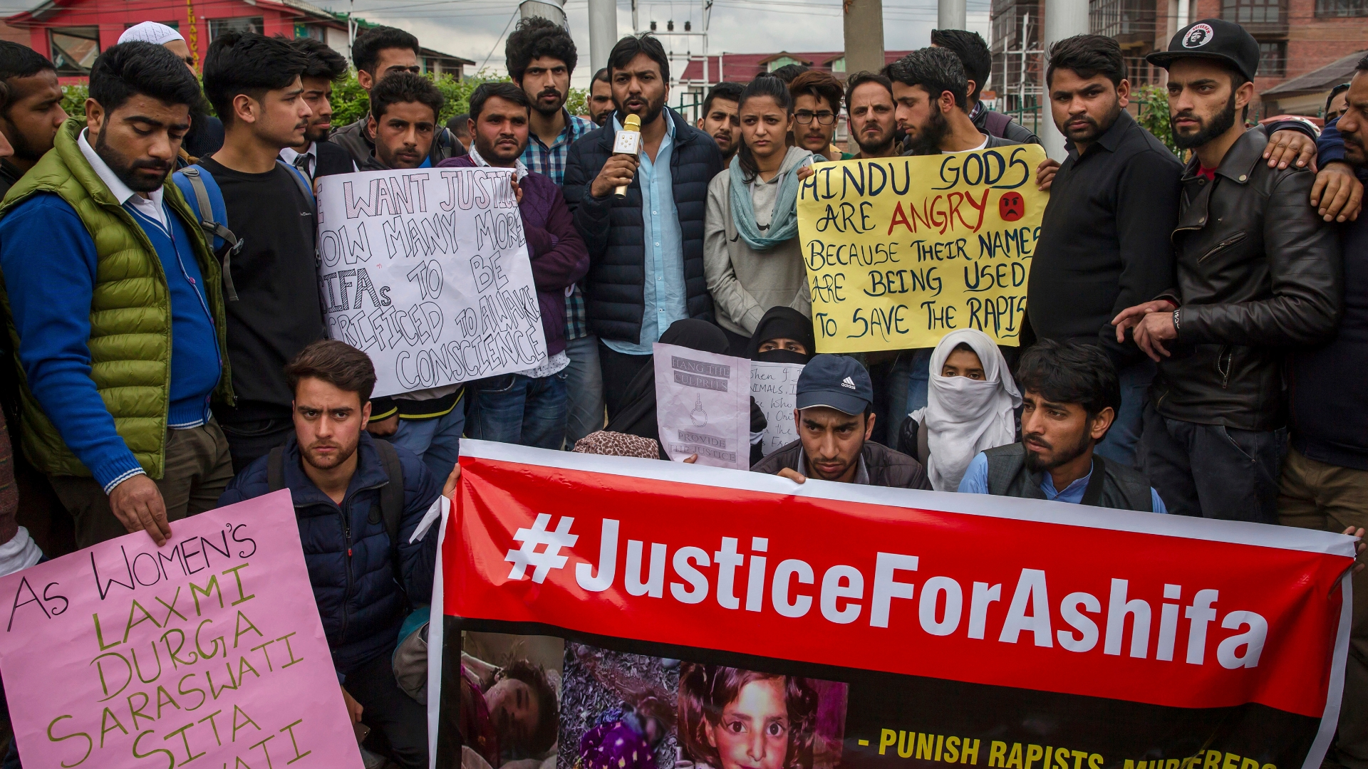 An 8-year-old's rape and murder inflames tensions between Hindus and Muslims in India
