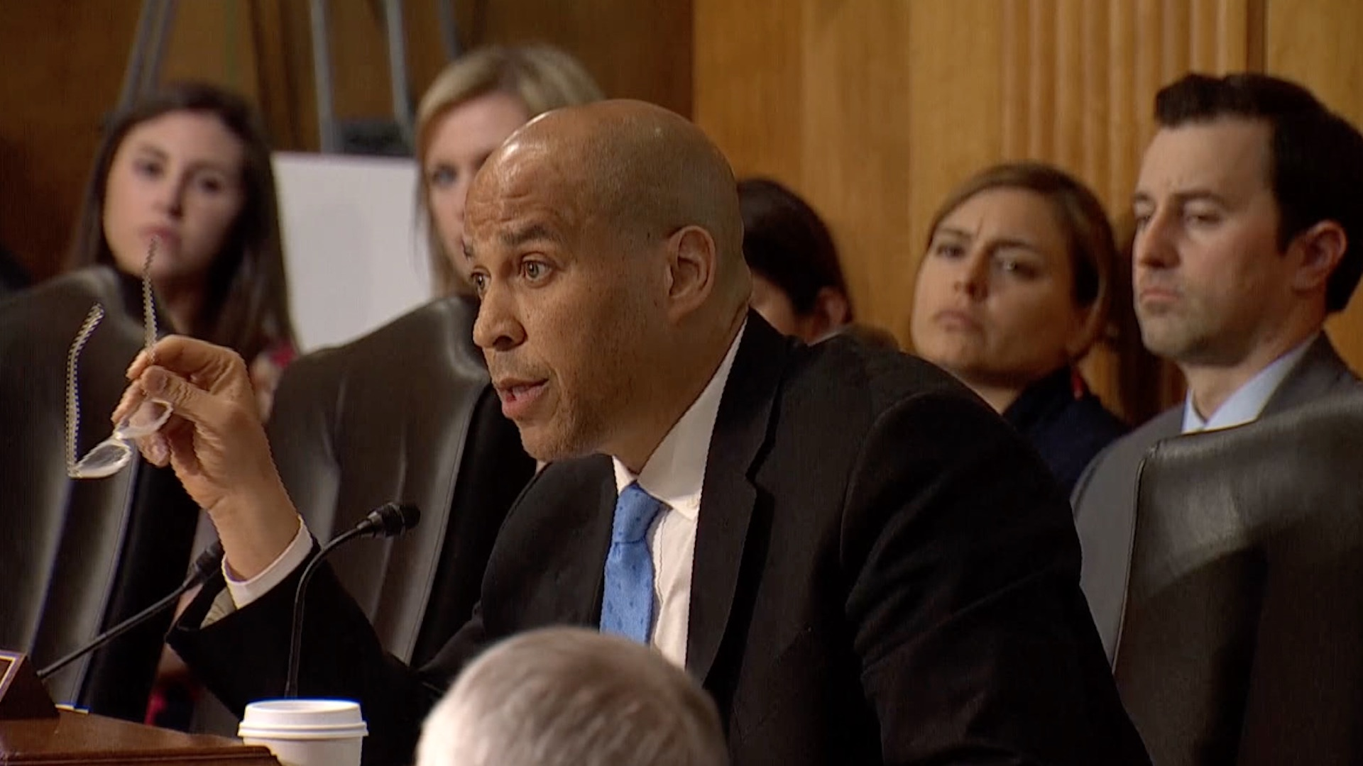 Cory Booker grills Mike Pompeo on whether he believes being gay is a 'perversion'