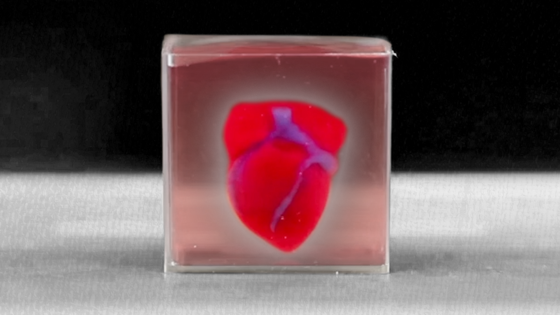 Scientists 3-D-printed a tiny human heart. They hope it can revolutionize transplants.