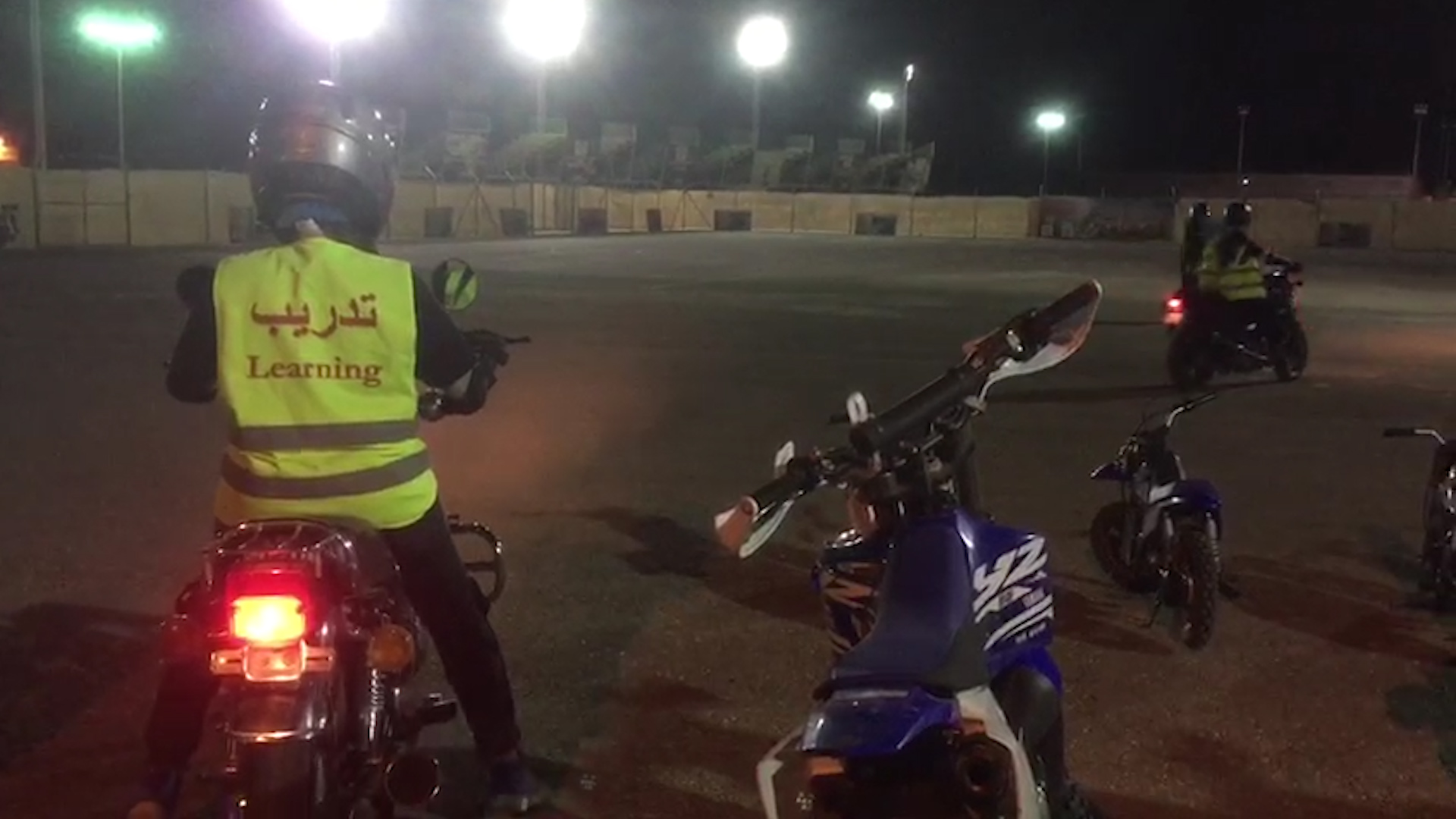 Saudi women on motorcycles signal new road ahead for the kingdom