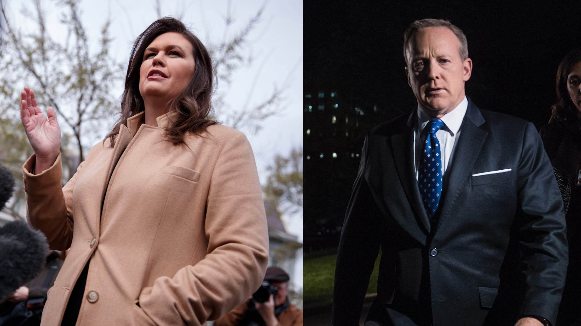 What to do about Sarah Sanders? White House reporters have a few ideas.