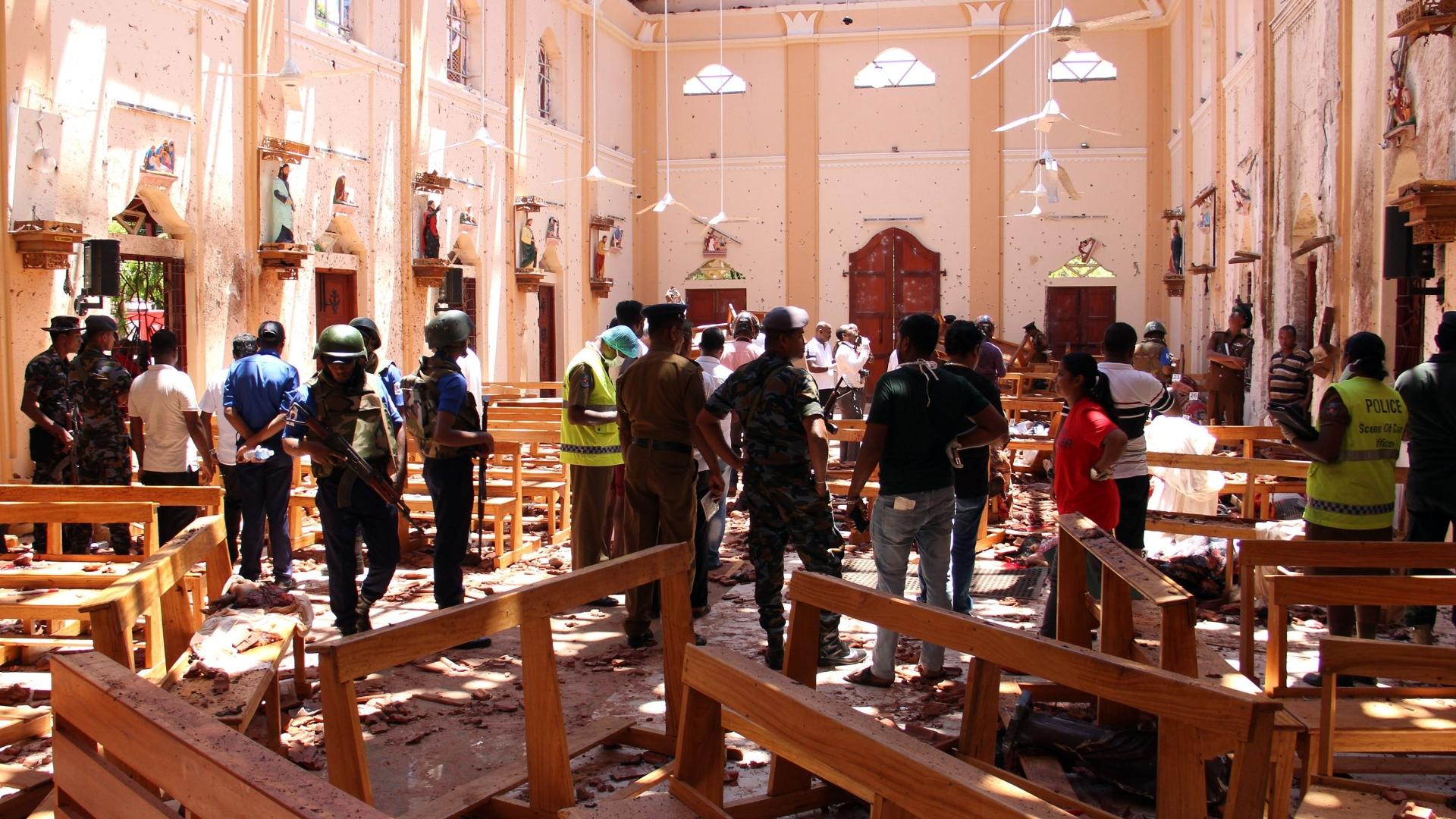 Celebrity chef, children of Danish billionaire among dead in Sri Lanka bomb attacks