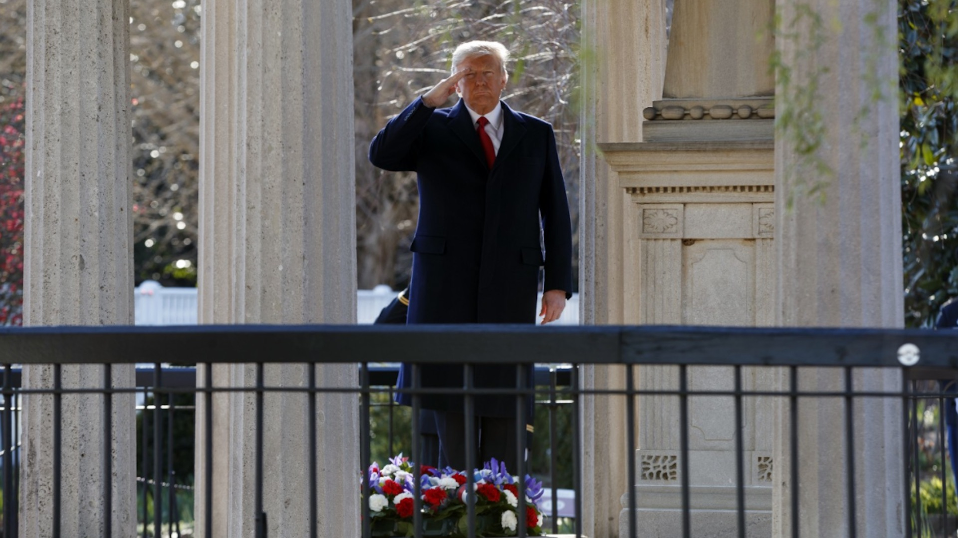 trump expresses admiration for andrew jackson at hermitage the