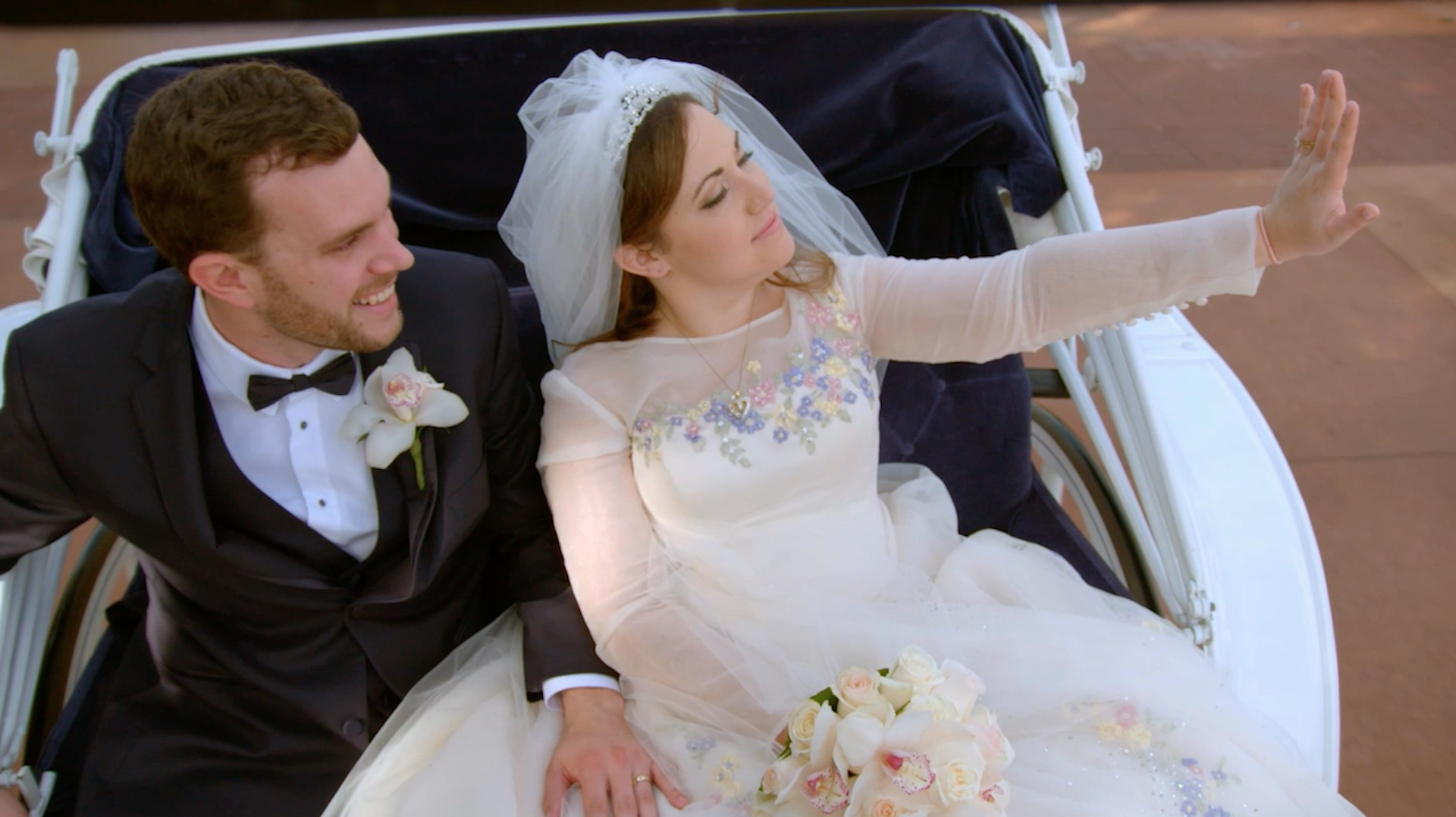 Clip: Tyler and Taylor get married on \'Disney\'s Fairy Tale Weddings ...