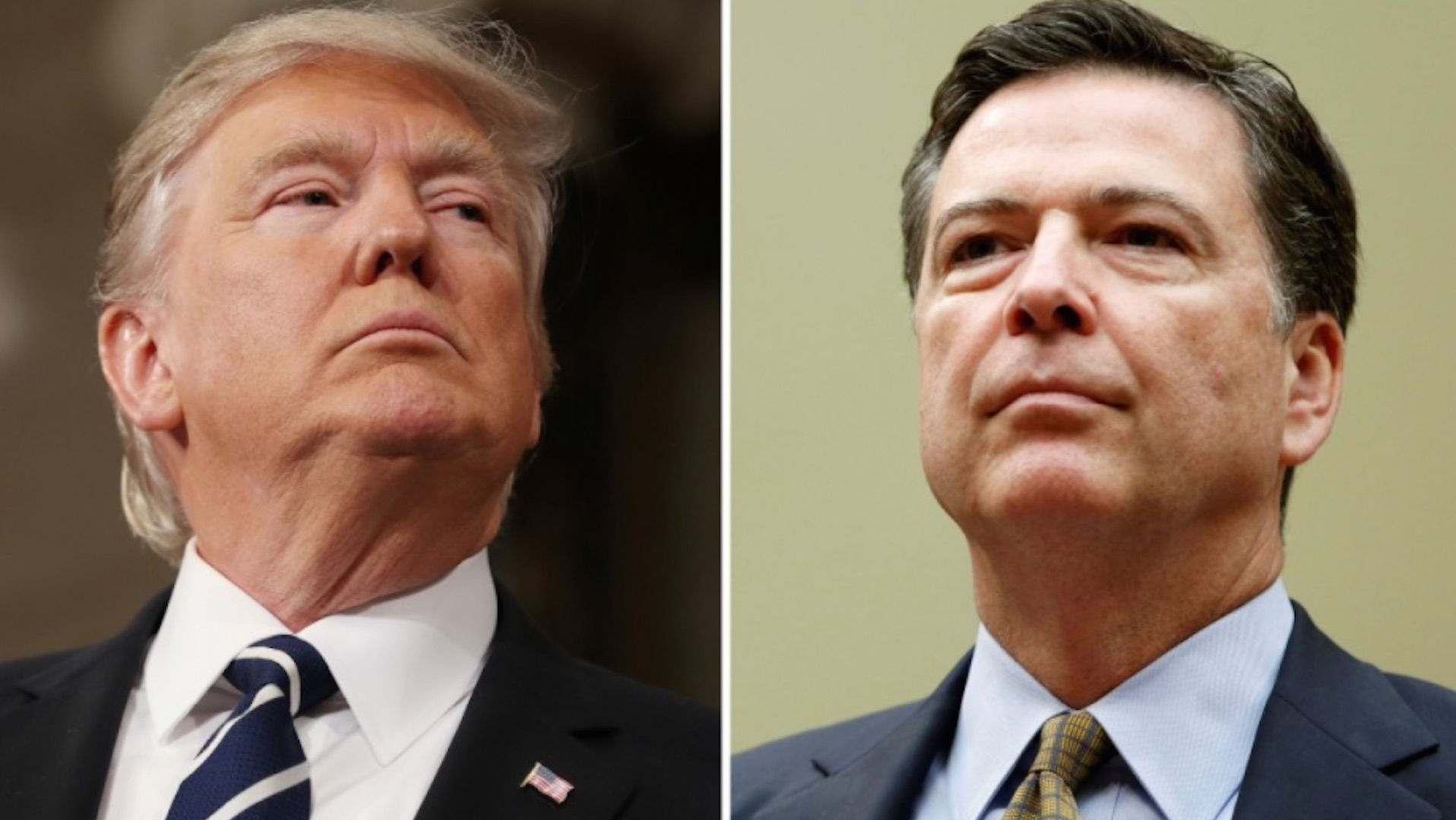 Trump watches as senators criticize him on TV for firing Comey. He hits back with mocking taunts