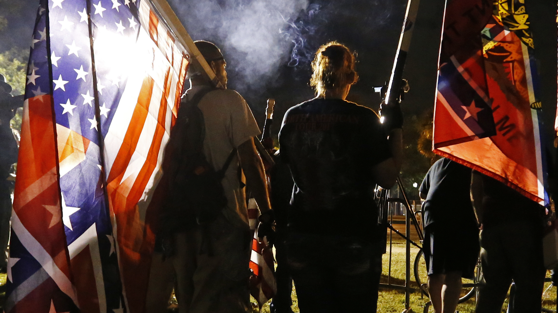The Confederate flag largely disappeared after the Civil War. The fight against civil rights brought it back.