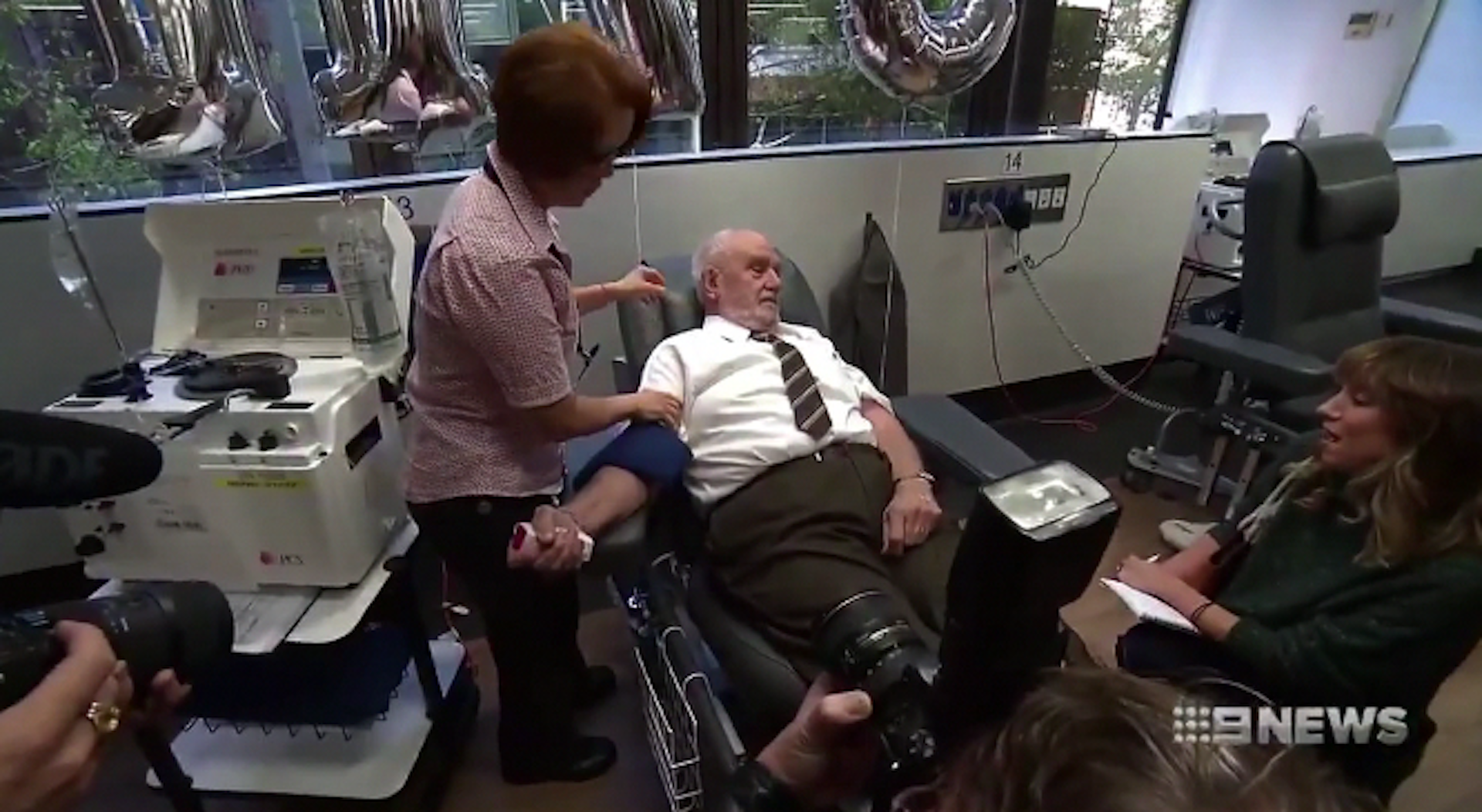For six decades, 'the man with the golden arm' donated blood — and saved 2.4 million babies