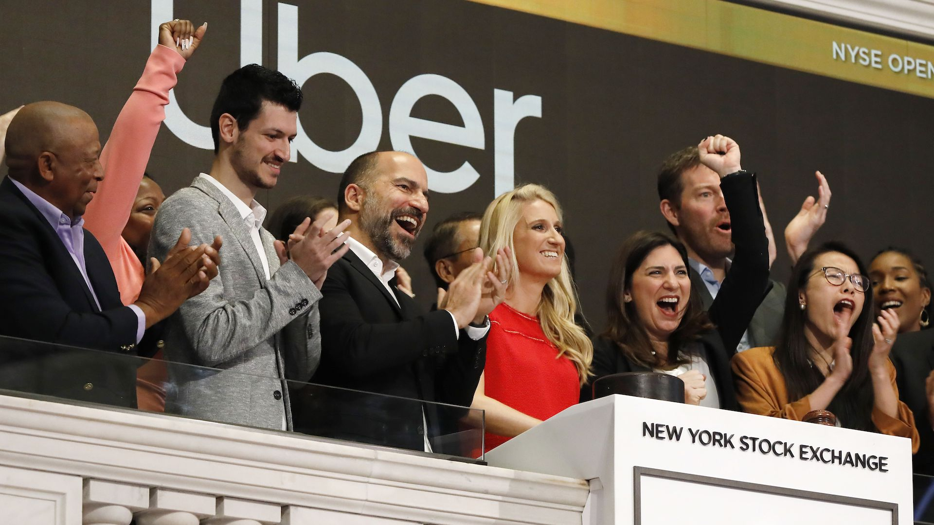 Uber rang in its IPO with champagne and mimosas. Then the hangover began.