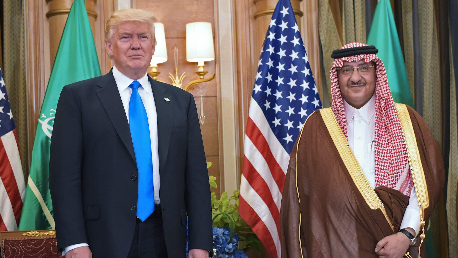 Trump signs 'tremendous' deals with Saudi Arabia on his first day overseas