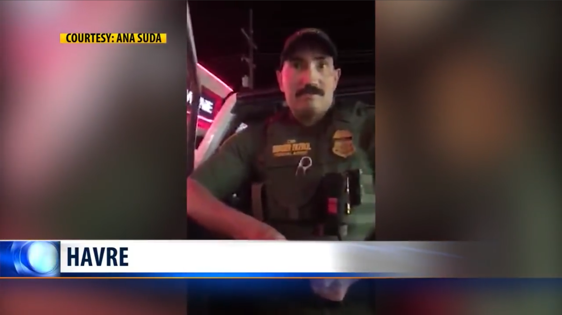Two Americans were detained by a Border Patrol agent after he heard them speaking Spanish