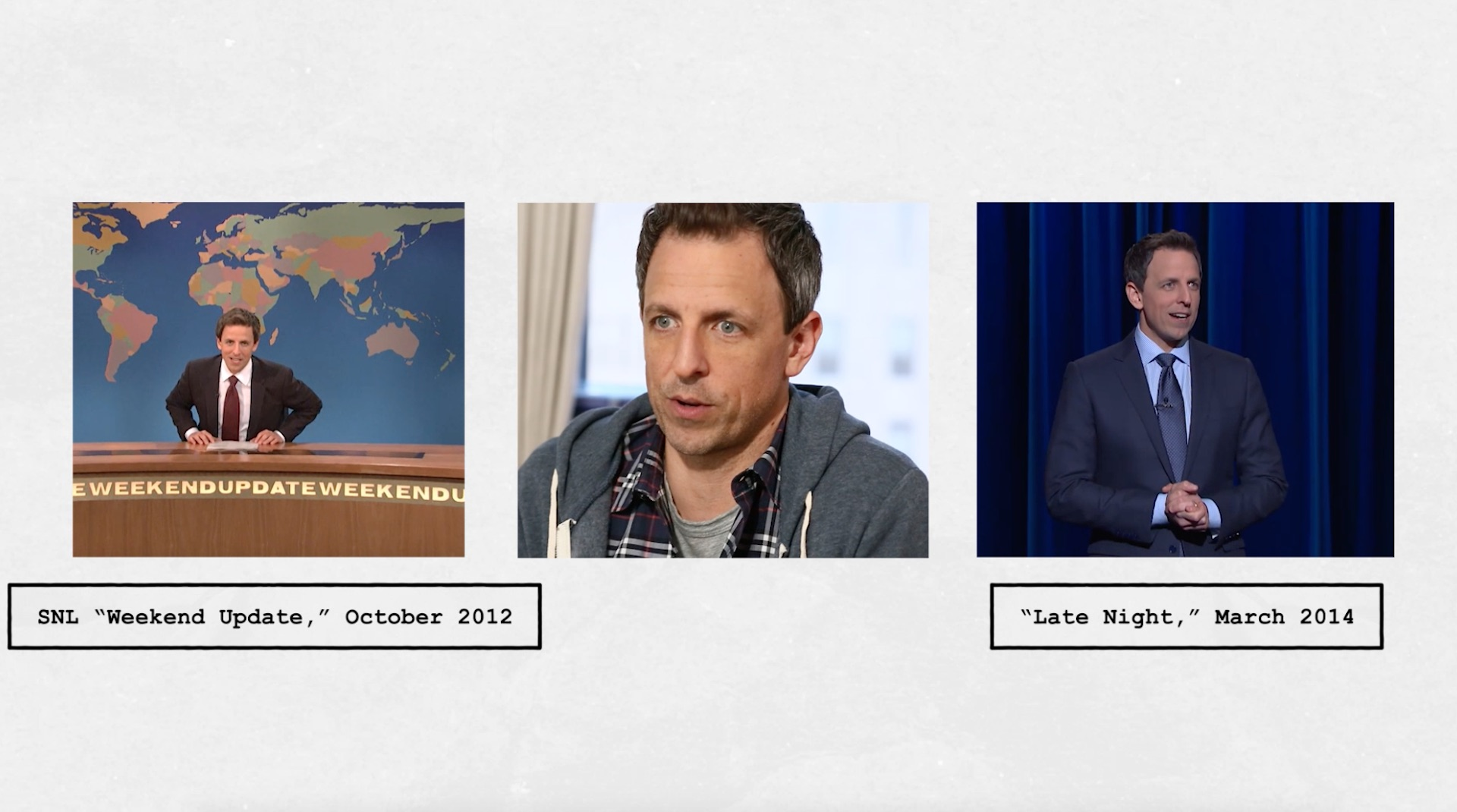 Seth Meyers makes a triumphant return to SNL's 'Weekend Update'; Michael Che drops the n-word