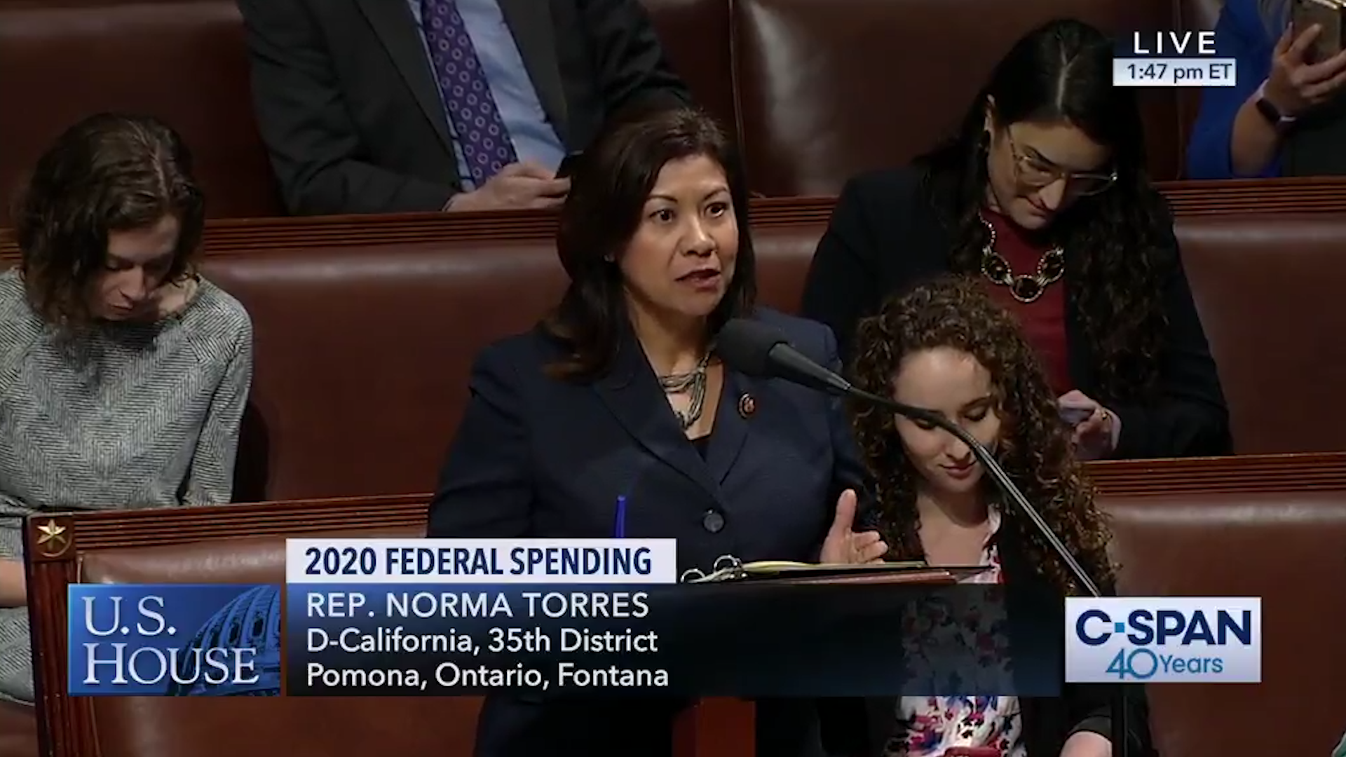 Democratic congresswoman chides 'sex-starved males' opposed to abortion rights