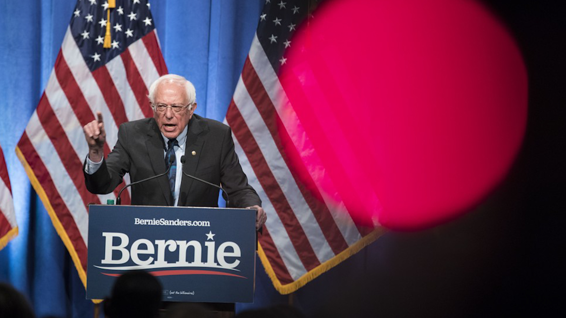 Sen. Bernie Sanders defends democratic socialism, reflecting internal Democratic battle over the party's philosophy