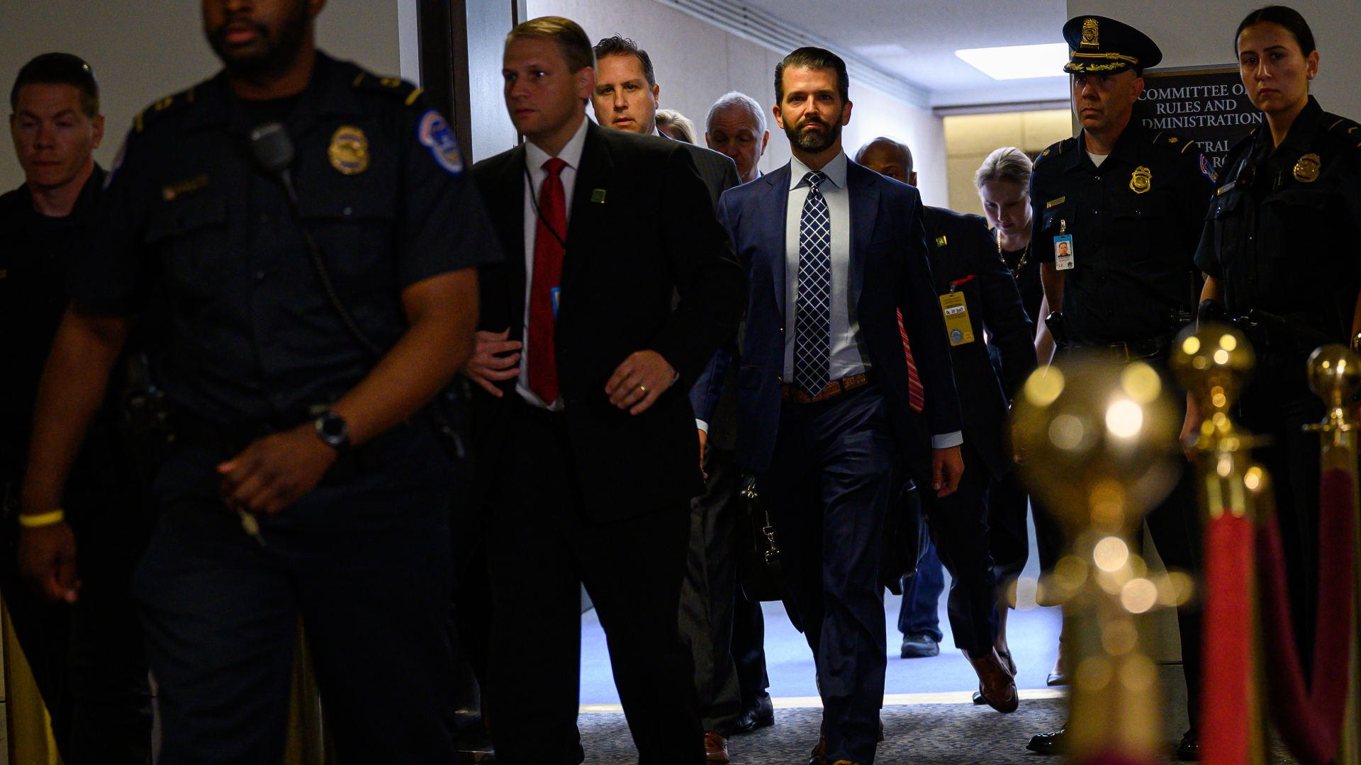 Trump Jr. says he's 'not at all' worried about perjury charges despite Democrats' suspicions
